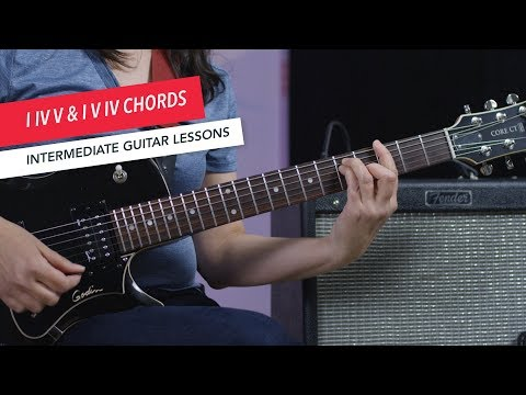 How to Play Guitar: Playing I-IV-V & I-V-IV as Open or Barre Chords   Intermediate   Guitar Lessons