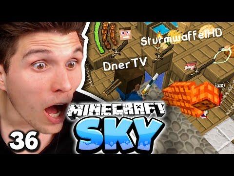 DER SCHWEINEMÖRDER! & WARUM RASTET DNER SO AUS? ✪ Minecraft Sky  #36 | Paluten
