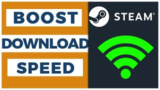 Gambar cover HOW TO INCREASE STEAM DOWNLOAD SPEED [2019]