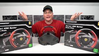Ferrari 458 Spider Racing Wheel Detailed Review Giveaway Youtube
