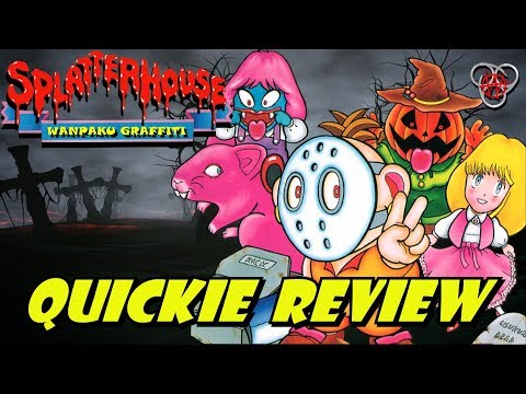 Splatterhouse - Wanpaku Graffiti (Famicom / NES) | Quickie Review | Nefarious Wes