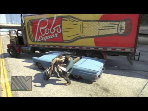 GTA 5 GAMEPLAY HIGH WAY FIGHT LOOL