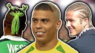 50 Worst Footballers' Haircuts   Ronaldo, Beckham & Neymar!