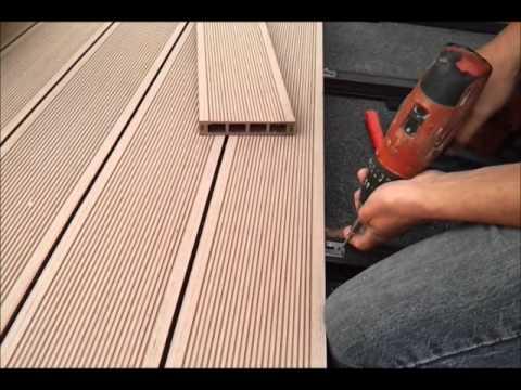 ekodrewno montaz tarasu kompozytowego film2012 youtube. Black Bedroom Furniture Sets. Home Design Ideas