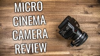 Blackmagic Micro Cinema Camera Unboxing and Overview | Studio96