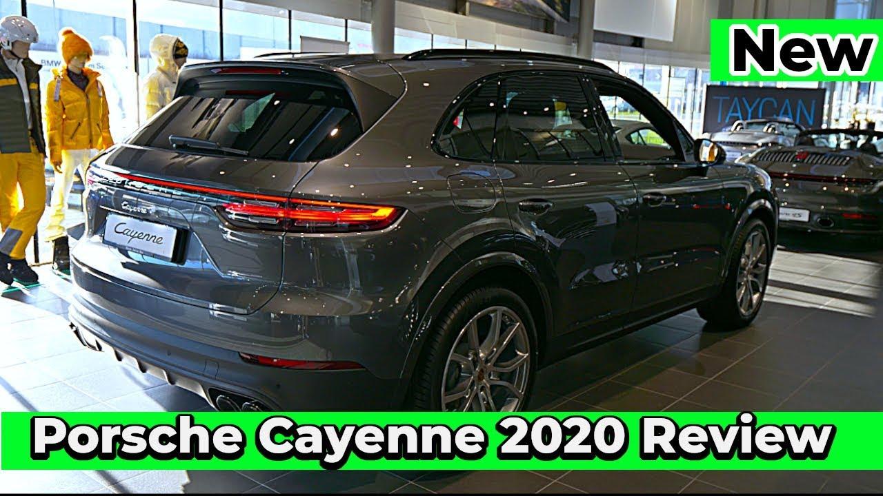 New Porsche Cayenne 2020 Review Interior Exterior Youtube