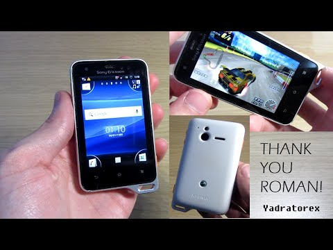 Sony Ericsson Xperia Active / ST17i - Review, old ringtones, camera samples...