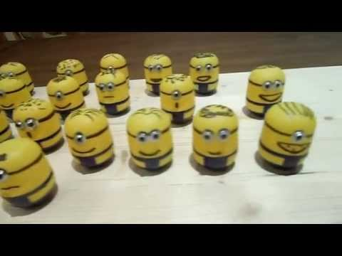 minions adventskalender selbst gebastelt diy youtube. Black Bedroom Furniture Sets. Home Design Ideas