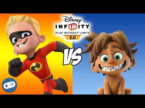 Spot VS Dash Disney Infinity 3.0 Toy Box Versus Fight
