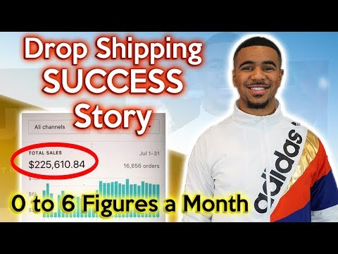 MY STORY - From $0 TO $224K/MONTH - Shopify Dropshipping Success Story