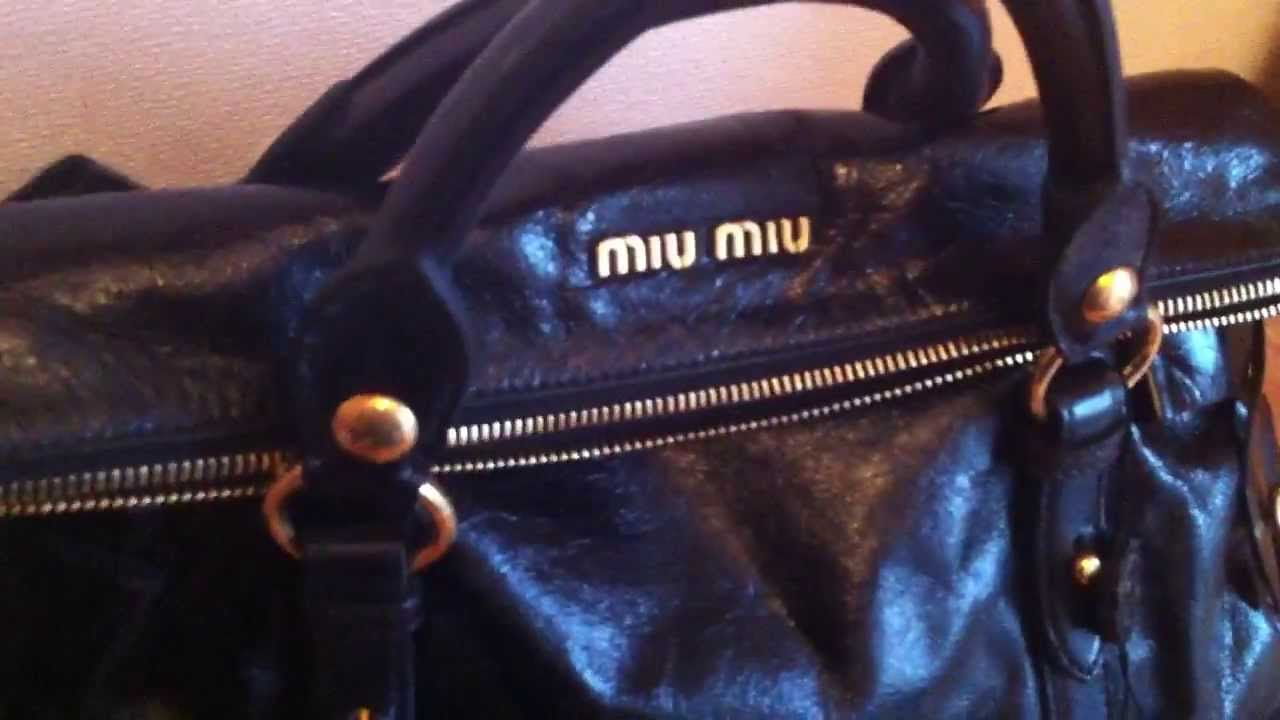 d326267294da Miu Miu Bow Bag Unboxing - YouTube