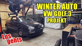 LB GARAGE | GOLF 3 WINTER PROJEKT | LOS GEHT
