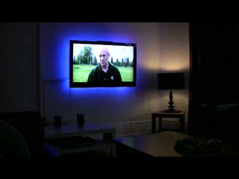 LCD Plasma Home Theatre lighting Kit- LED TV Backlight/Mood Lighting ...