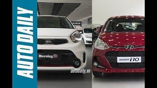 Autodaily.vn | So Sánh Hyundai Grand I10 2017 Và Kia Morning Si 2016