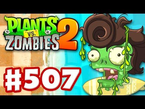 Plants vs. Zombies 2 - Gameplay Walkthrough Part 507 - Big Wave Beach Pinatas! (iOS)