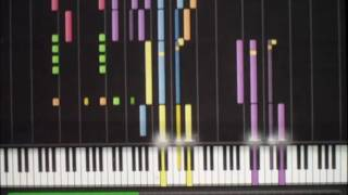 Star Trek The Motion Picture -  Main Theme, Synthesia, sheet music Finale PrintMusic 2011, HD
