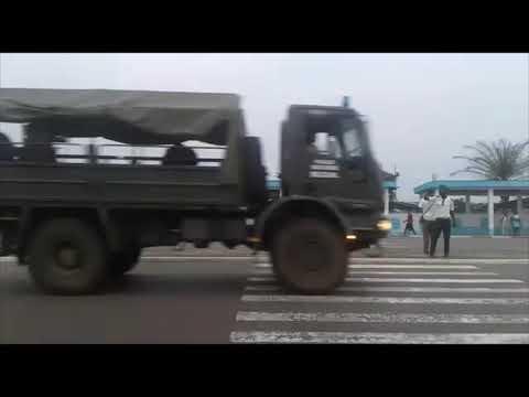 [Vidéo] Valse de blindées vers le Boulevard Triomphale