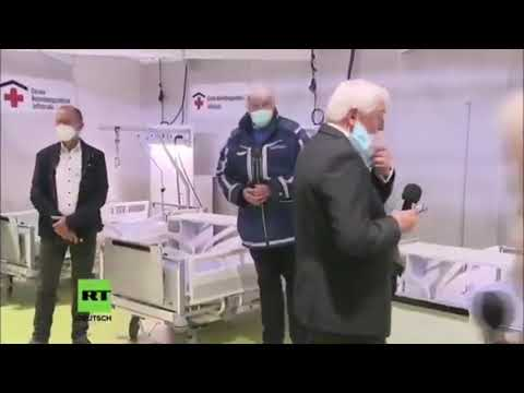 German President: Cameras On Masks On, Cameras Off Masks Off