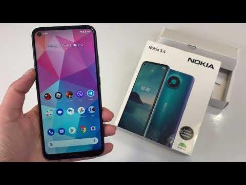 Мобильный телефон Nokia 3.4 3/64GB Charcoal