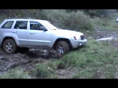 Jeep Commander Vs Grand Cherokee Off Road Battle