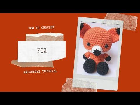 Amazon.com: Fletcher the Fox - Amigurumi Crochet Stuffed Animal ... | 360x480