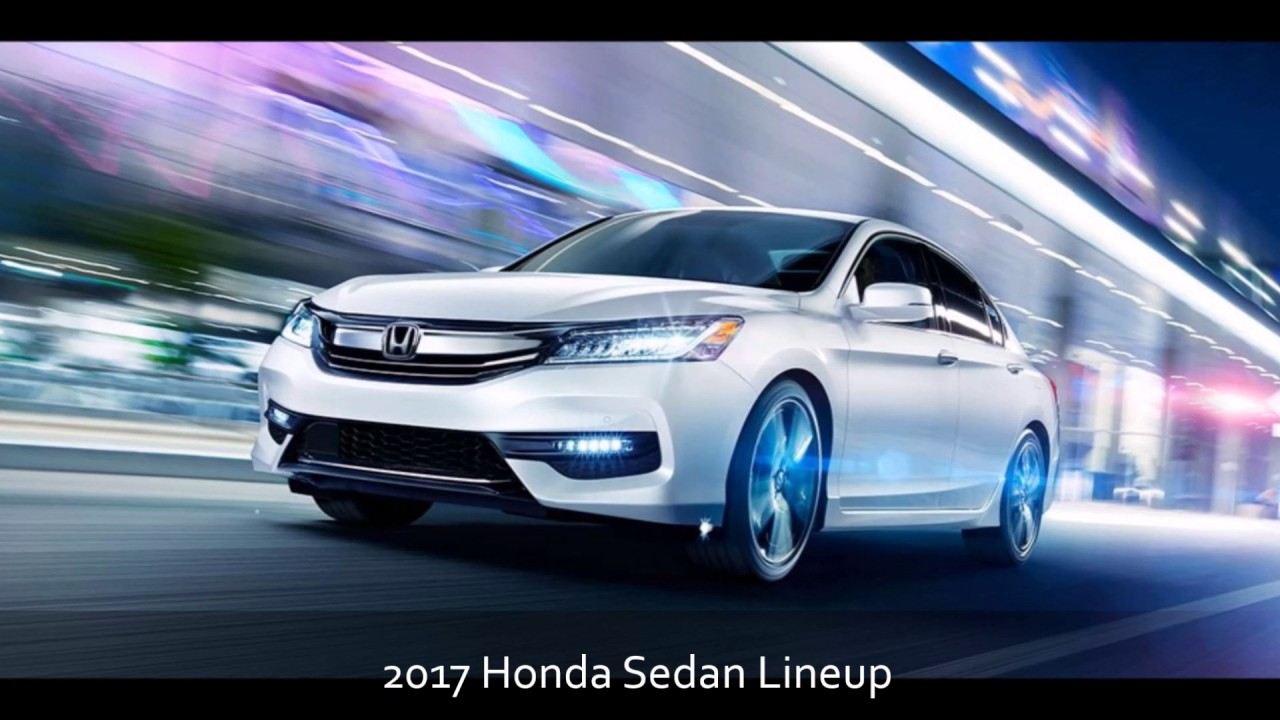 2017 Honda Sedan Lineup At Milton Martin Serving Atlanta Athens And Gainesville Ga