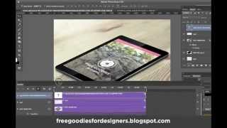 Photoshop Animation Ipad Scroll Down (free File Included)