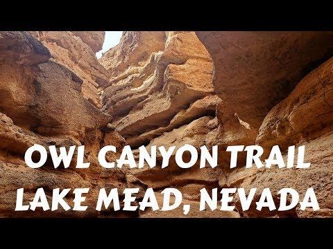 OWL CANYON TRAIL LAKE MEAD, NEVADA