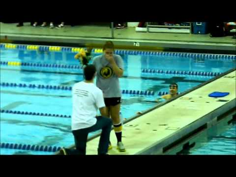Best Proposal Ever! (At Championship Swim Meet!)