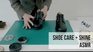 슈케어 구두닦는 노토킹 ASMR Shoe Care &a…