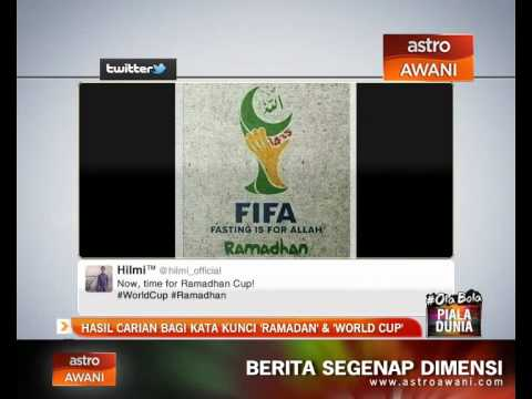 Hasil carian bagi kata kunci 'Ramadan' & 'World Cup'