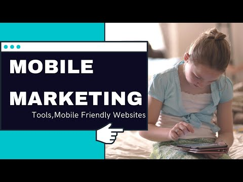 Mobile Marketing Tutorial | What is mobile marketing,Types of Mobile Marketing,Tools