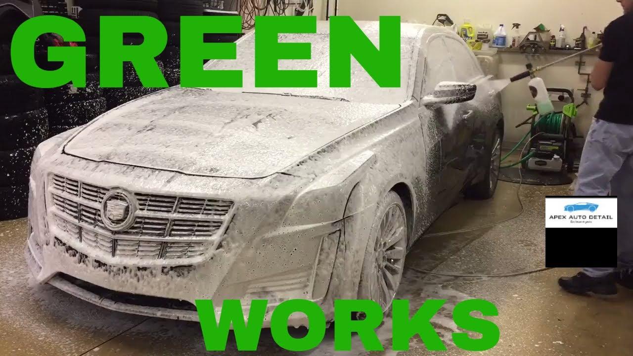 GreenWorks 2000 psi 1 2 gallon GPM Premium Electric Pressure Washer!!!  Under $200!!