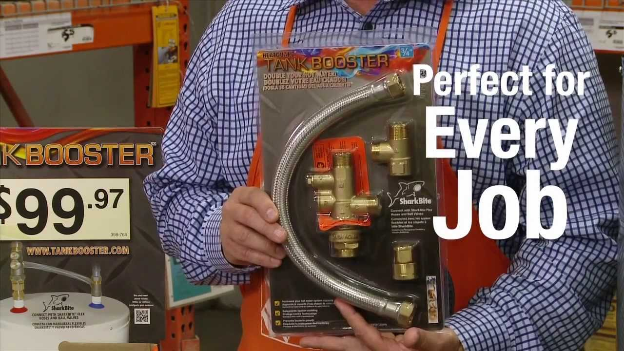 Cash Acme Heatguard Tank Booster for Pros - The Home Depot - YouTube
