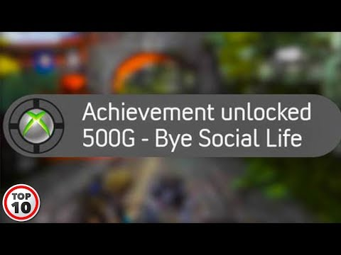 Top 10 Embarrassing Video Game Achievements