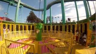 POV centrifugal force ride