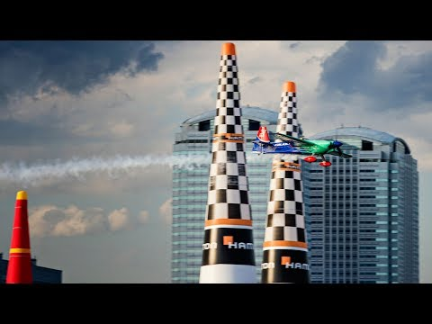 Red Bull Air Race Chiba 2017 Qualifying Action