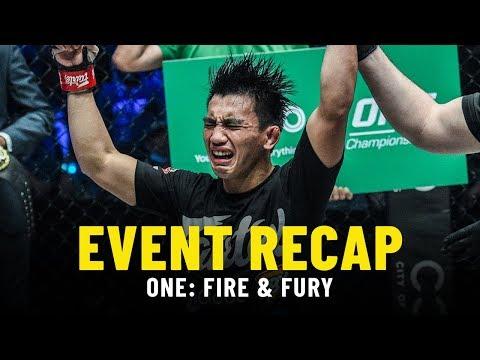 Event Recap   ONE: FIRE & FURY