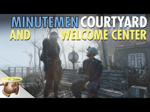 FALLOUT 4: BUILDING A MINUTEMEN WELCOME CENTER (Kingsport Lighthouse Ep. 4)
