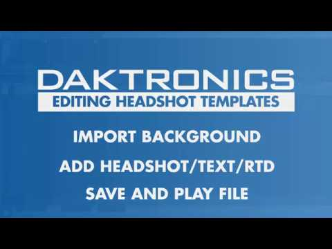 headshot templates