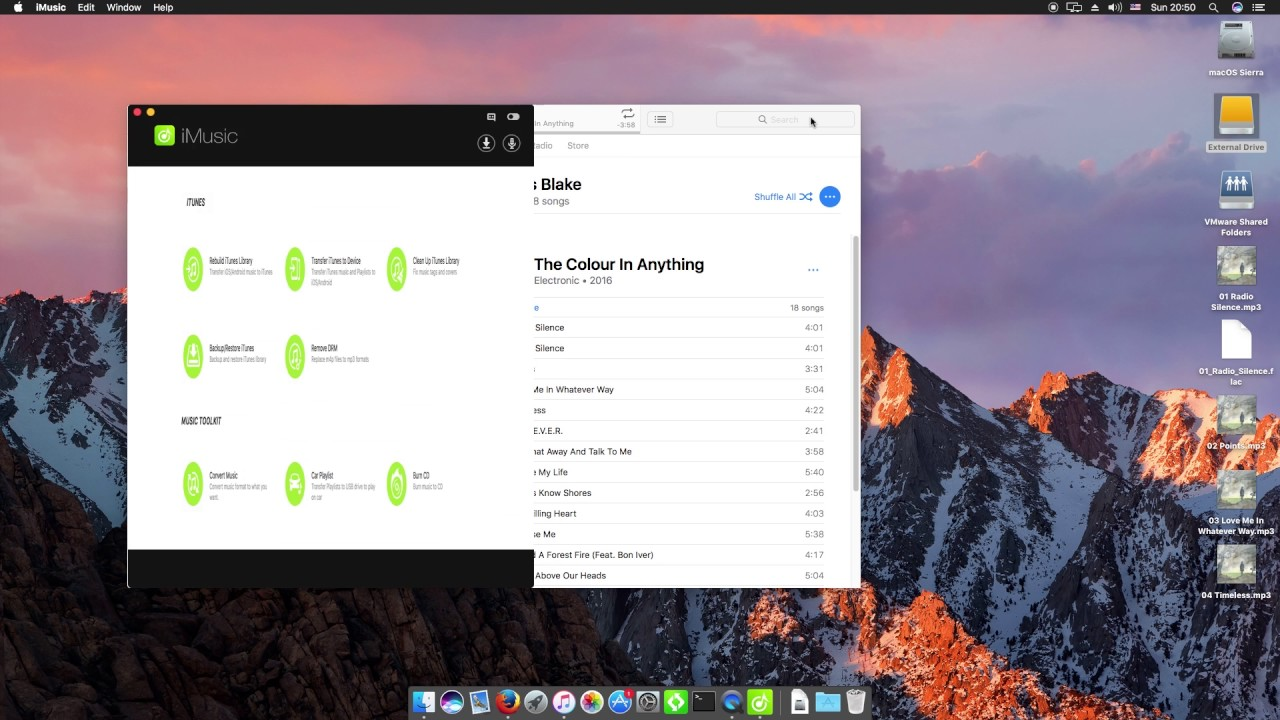 How to Export iTunes Music to USB or Convert iTunes to MP3 with iMusic for  Mac