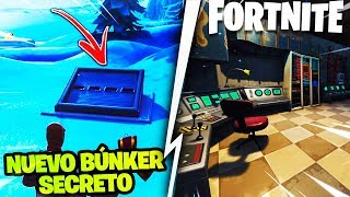 THE MYSTERY OF THE *NEW SECRET BUNKER* FORTNITE WHAT'S INSIDE?