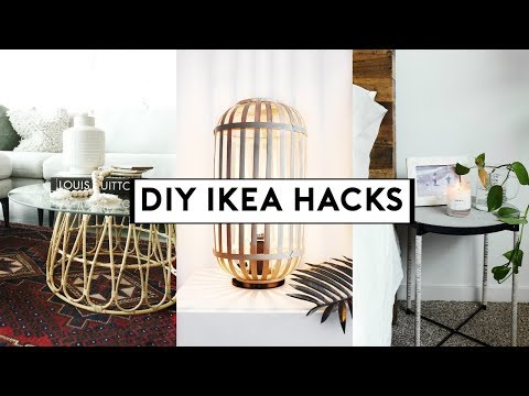 DIY IKEA HACKS (Affordable + EASY) 2019 | Nastazsa