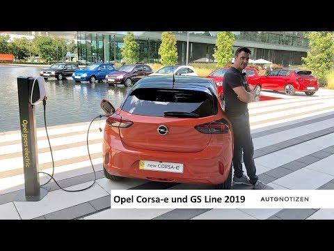 Opel Corsa-e und GS Line 2019: Premiere, statisches Review und Sitzprobe