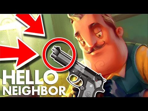Minecraft Hello Neighbor - How To Get The Secret Gun (Minecraft Roleplay)