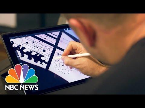 High Tech Tat: Tattoo Artist Takes Industry To Digital Future | NBC News