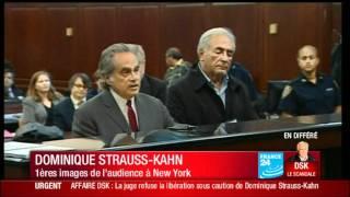 DSK : Premières images du procès Strauss-Kahn pour tentative de viol