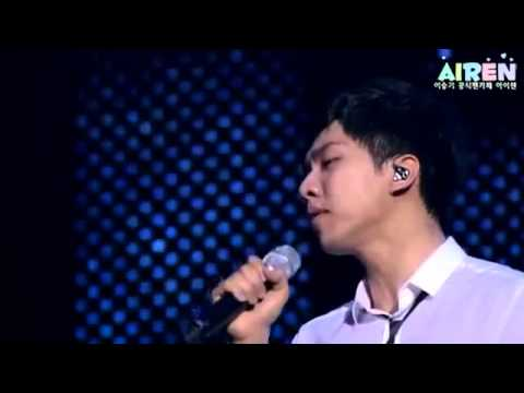 The King 2 Hearts OST Love is Crying Lee Seung Gi Japan First Live   YouTube