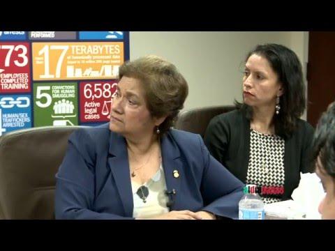 ICE Director Sarah Saldaña on illegal immigration