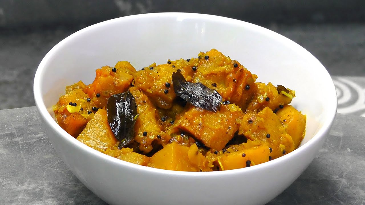 Malaysian pumpkin curry vegan vegetarian recipe youtube forumfinder Choice Image